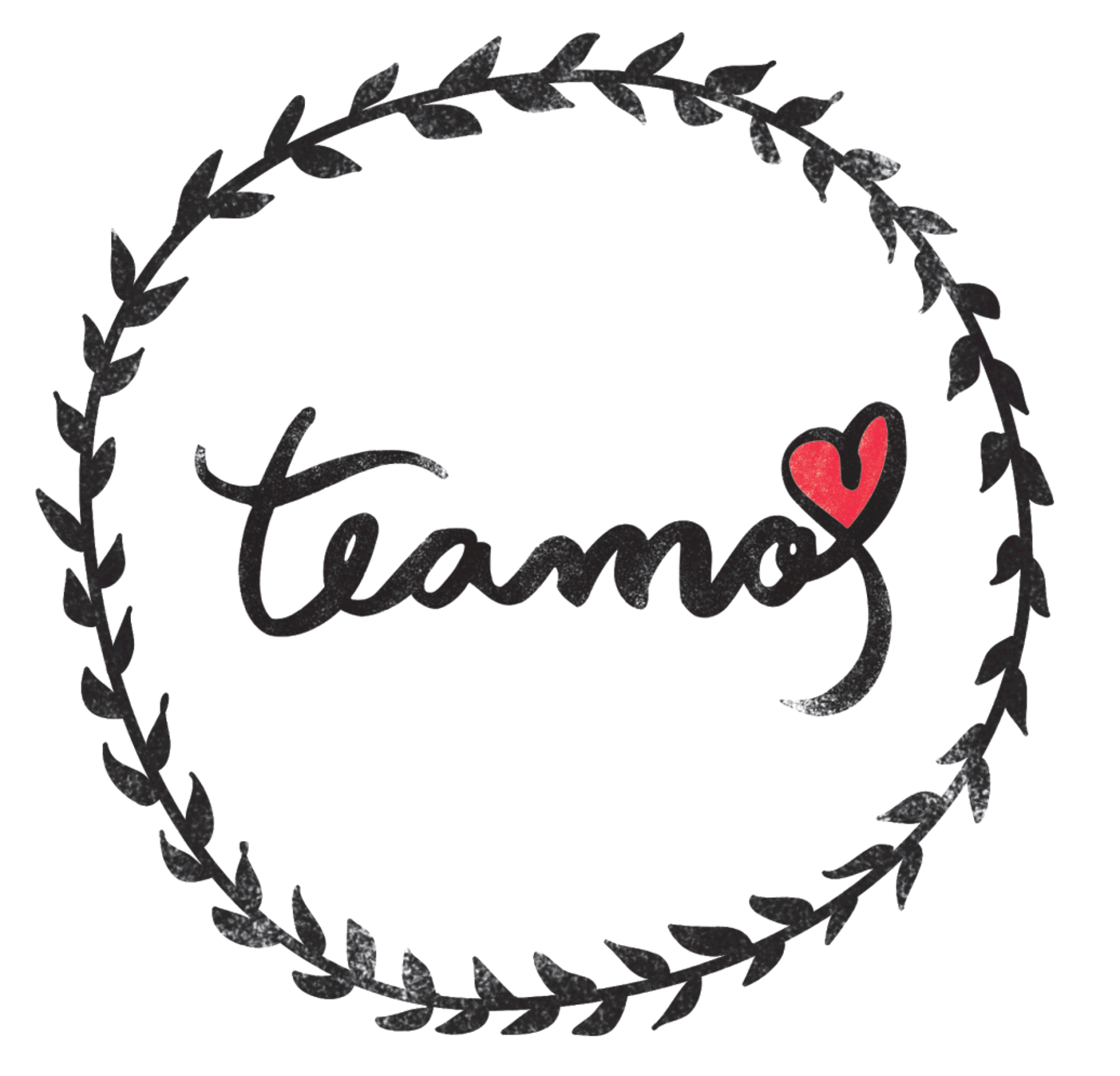 Logo da Marca Teamo Chá.