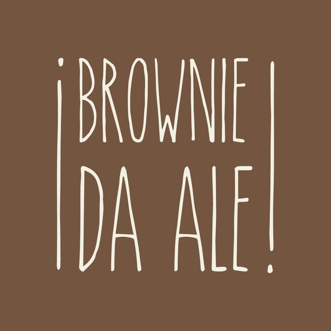 Logo da Marca Brownie da Ale.