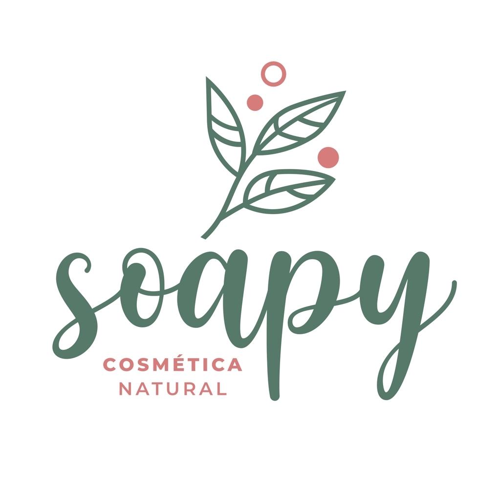 Logo da Marca Soapy Cosméticos.
