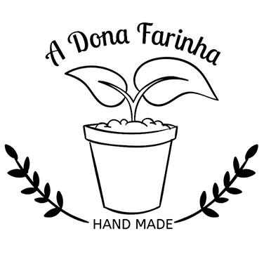Logo da Marca Terrários Dona Farinha.