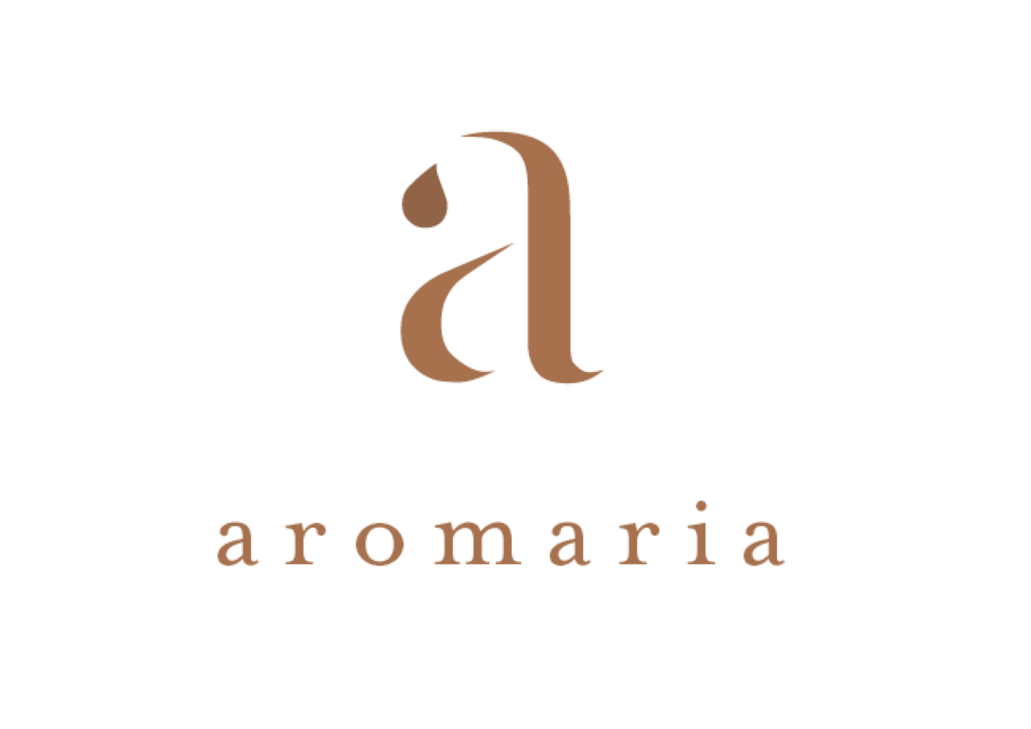 Logo da Marca Aromaria.