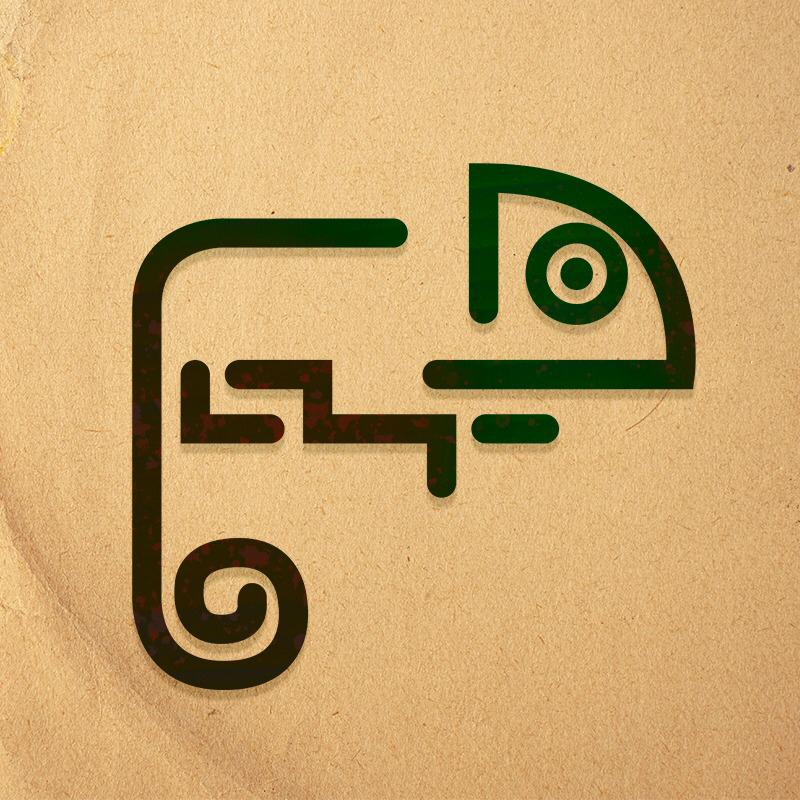 Logo da Marca Camaleoa Arte.