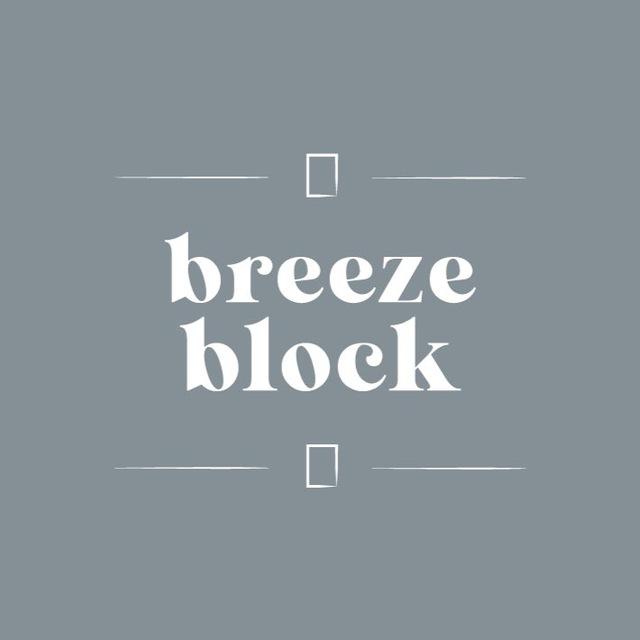 Logo da Marca BreezeBlock Store.